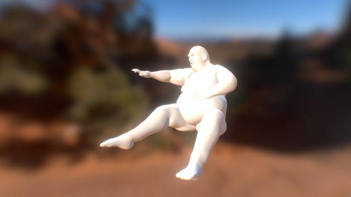 Gluttony 3D Model