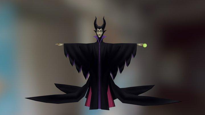 Kingdom Hearts - Maleficent 3D Model