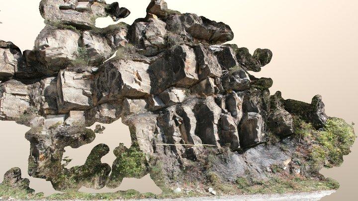 Mt. Antola Flysch Fm. - Upload test 3D Model