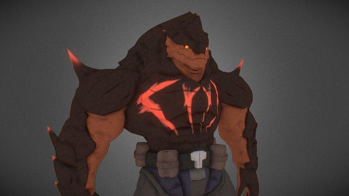 Krogan - The ACee 3D Model