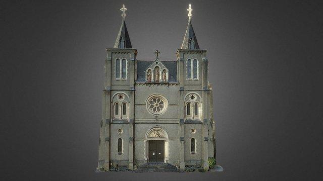 Eglise Notre Dame de Pietat (64) 3D Model