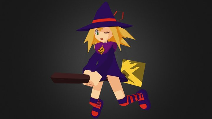 Witch Roll 3D Model