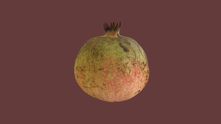 Pomegranate 3D Model