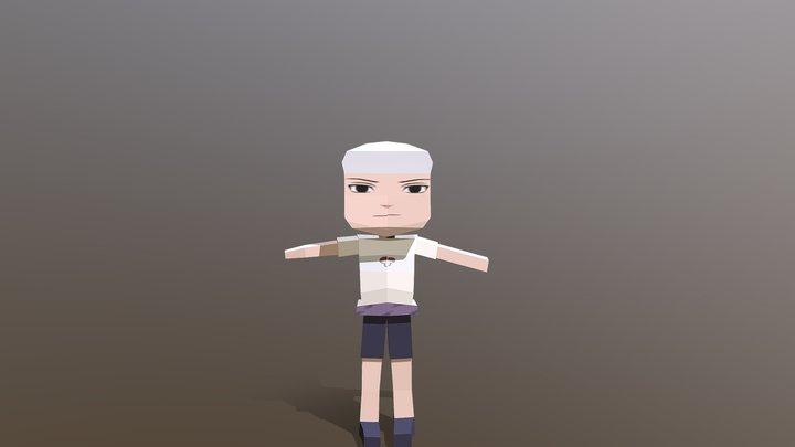sasuke block 3D Model