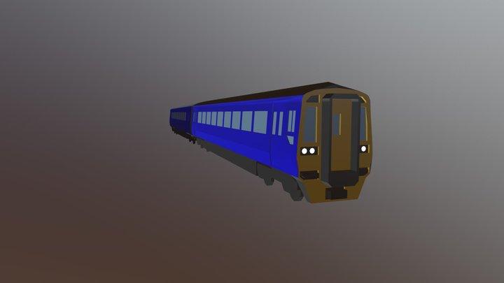 Class 158 3D Model