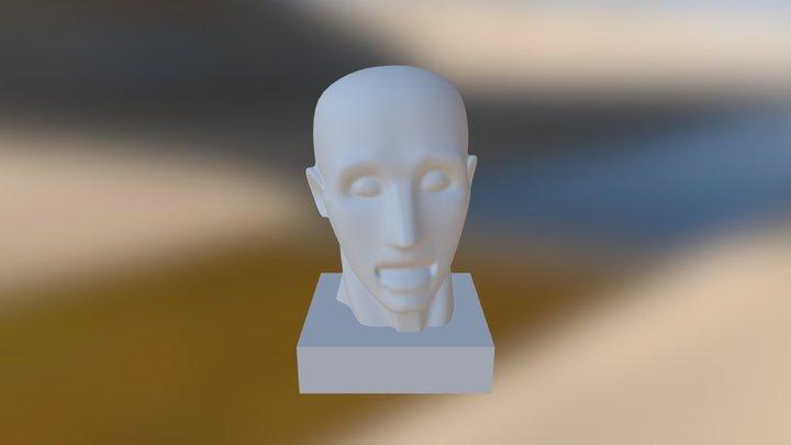 Modeling Head 3D Model