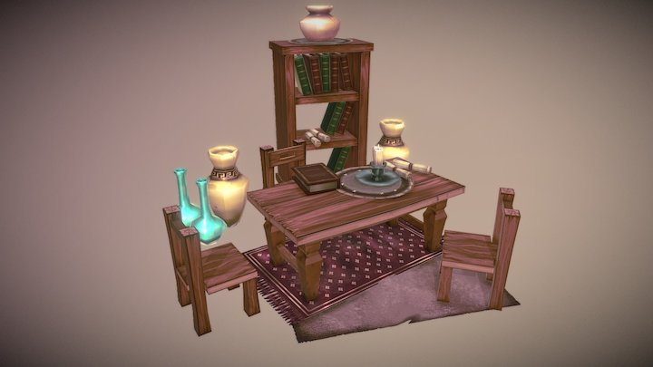 Tales for Adventure 3D Model