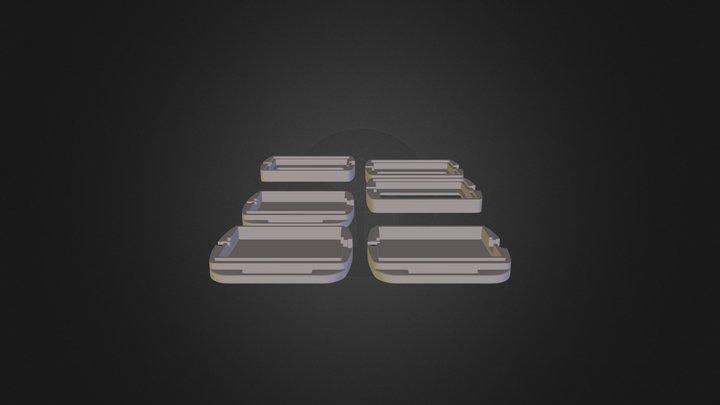 трешечка на печатку усшакми юсб 3D Model