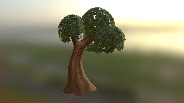 Arvore Cartoon05 3D Model