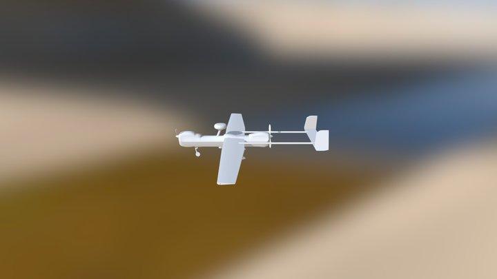 RQ-5B 3D Model