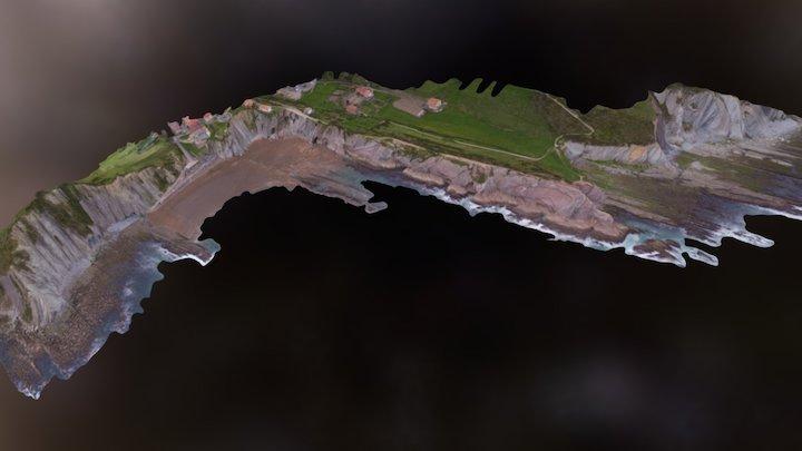 Zumaia Flysch Simplified 3D Geoparkea 3D Model