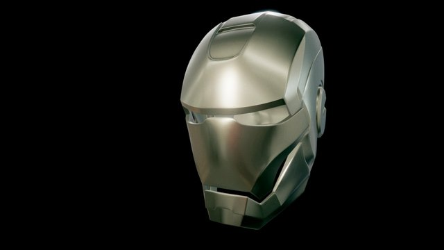 Iron Man Mask 3D Model