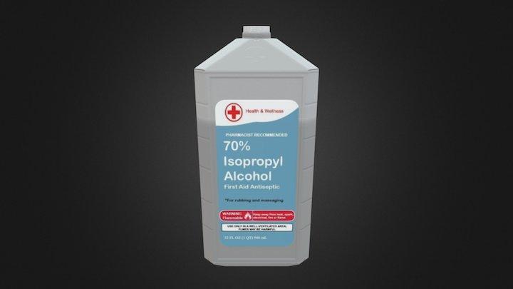 Rubbing Alcohol 3D Model