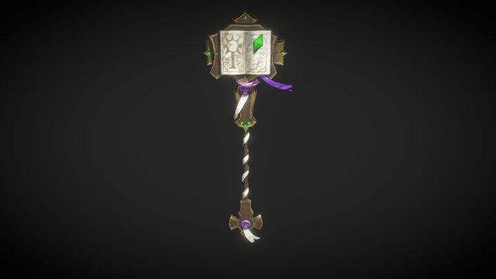 World of Warcraft Staff 3D Model