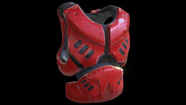 Armor Vest Prop 3D Model