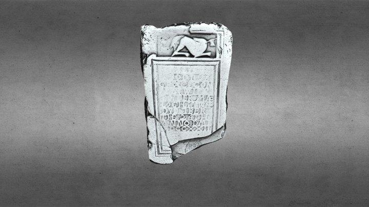 DRUMMANS - Headstone - LE003-008004- Dobhar Chu 3D Model