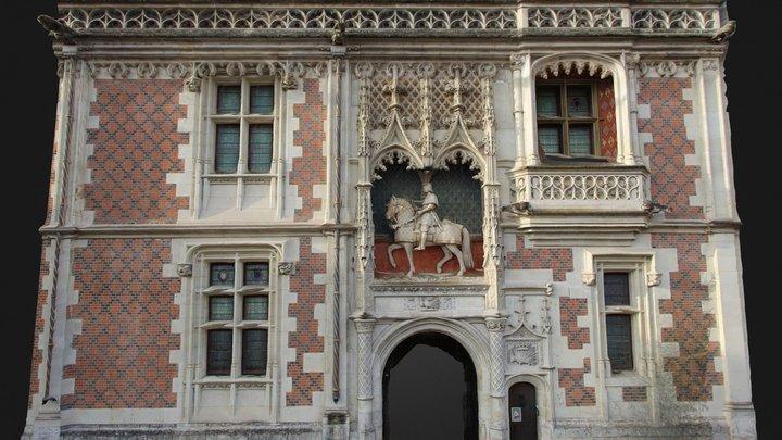 Château de Blois 3D Model