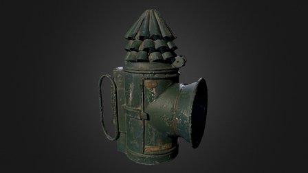 Policeman's Lamp 3D Model