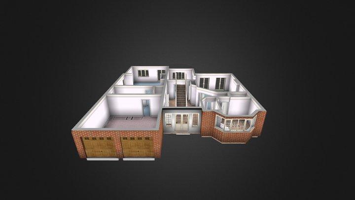 First floor exsample1 3D Model