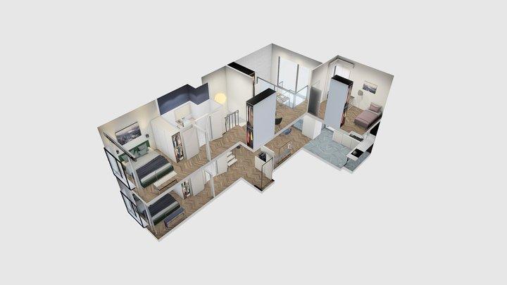 Apartment no. 237 3D Model