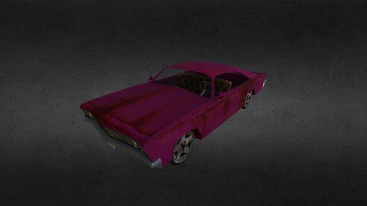 1967 Chevy Impala 3D Model