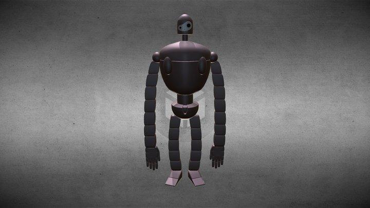 Laputa Bot 3D Model