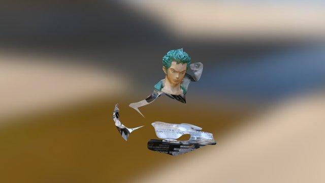Zoro Obj 3D Model