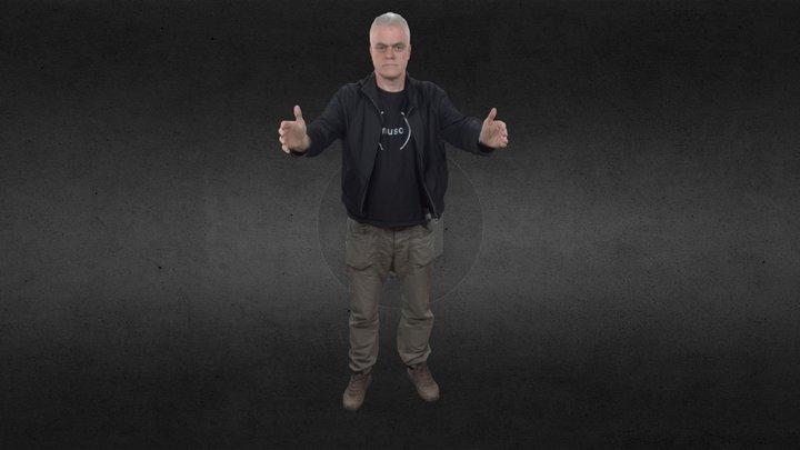 The Gadget Show - Jon Bentley 3D Model