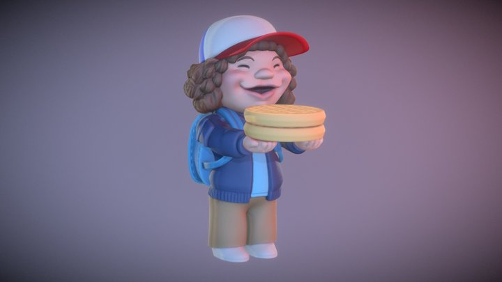 Dustin 3D Model