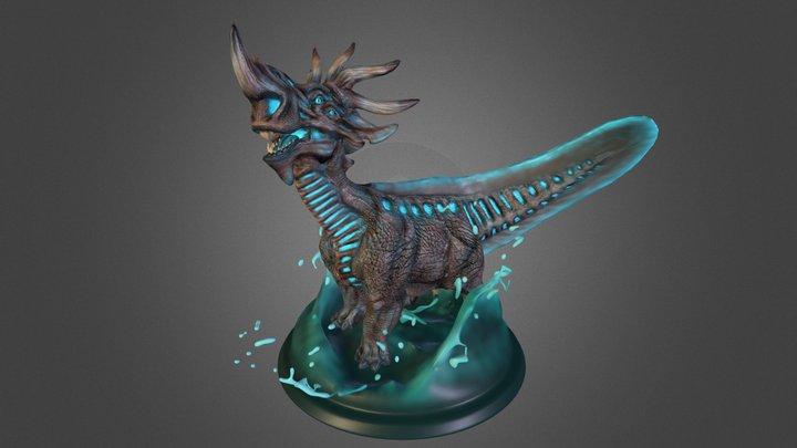 "Kaiju ""Gorgon"" : Category II 3D Model"