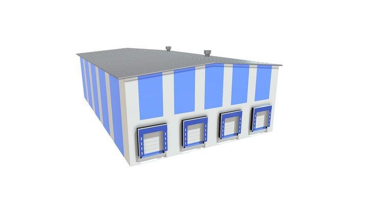 Ворота и пристройки 3D Model