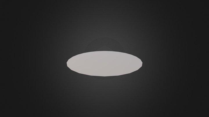 Flat_Cricle 3D Model