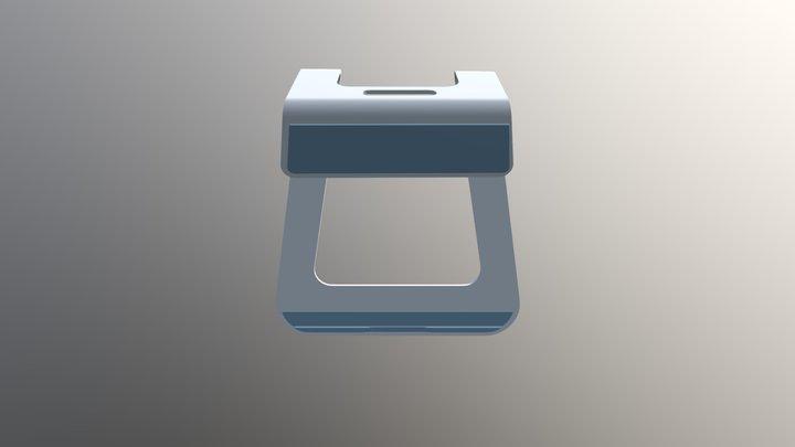 Macbook stand 3D Model