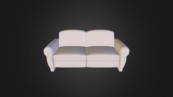 Sofa_model 3D Model