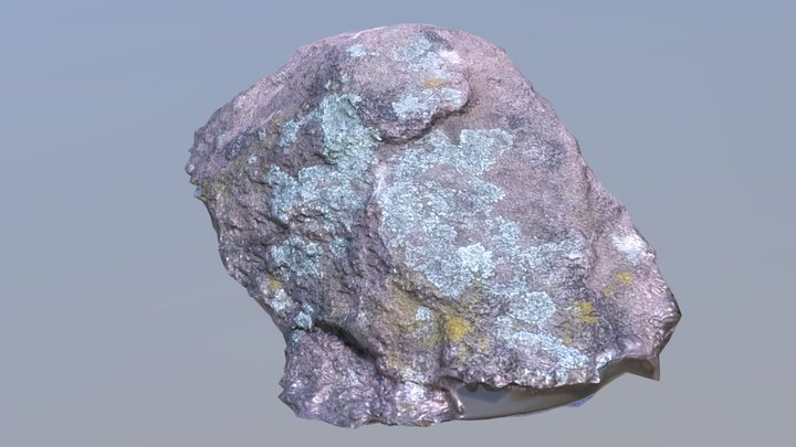 """Big Rock"" Test 3D Model"