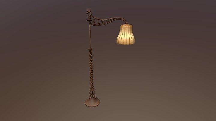 Standing Lamp 3D Model
