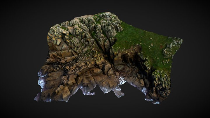 Sennen- Cliffs- Feature-1-100K 3D Model