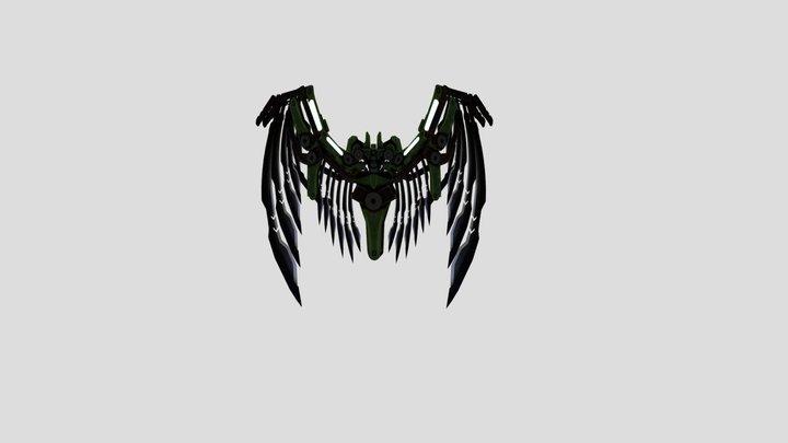 Vulture Wings tasm 3 sinister six 3D Model