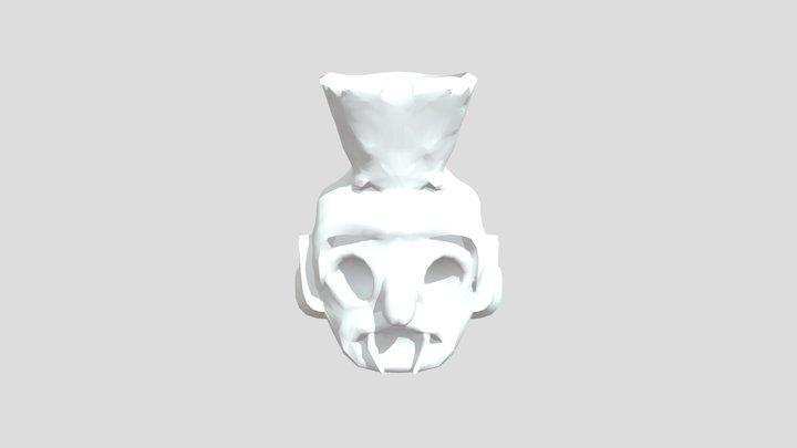 Tlaloc 3D Model