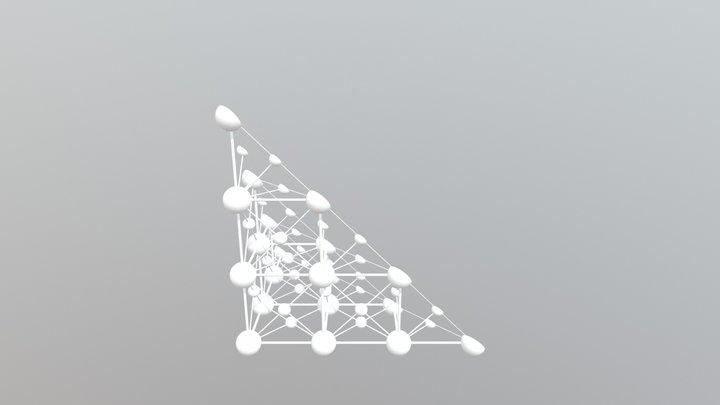 Unit Cell 3x3x3 111 3D Model