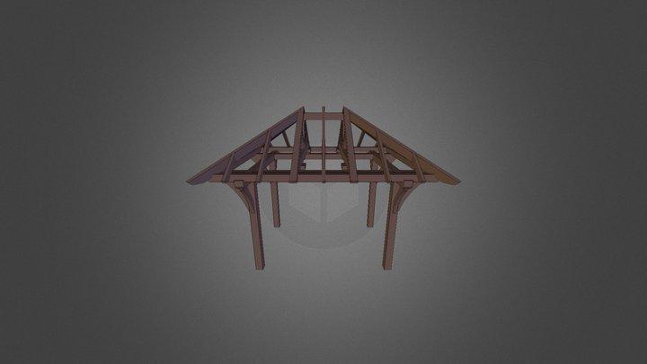C T F- Gazebo- C M 3D Model