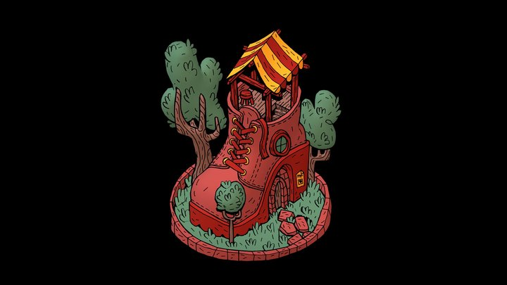 house 04 3D Model
