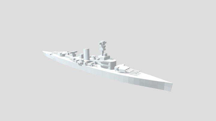 KMS Deutschland - Model for 1/4000 printing 3D Model