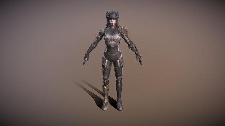 Proxima Midnight 3D Model