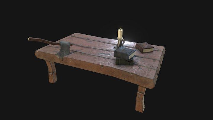 Dungeon Props 3D Model
