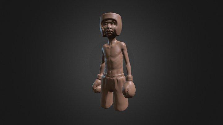 Lil' Boxer 3D Model