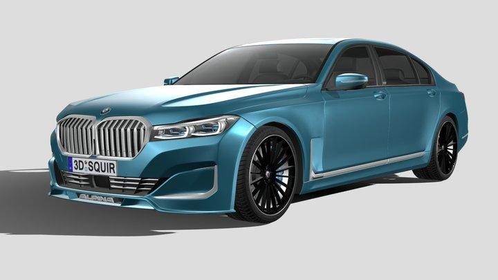 BMW Alpina B7 2020 3D Model