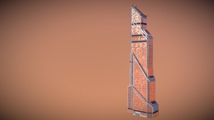 Mercury City Tower 3D Model