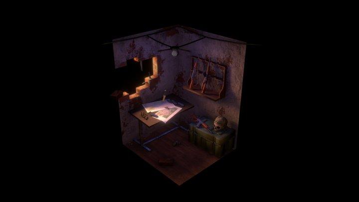 War Room 3D Model