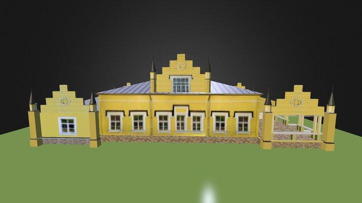 Музей-усадьба Н.К. Рериха в Изваре  3D Model